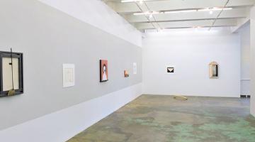 """""""Anne Minich: Her Bone"""" installation view of interior gallery"""