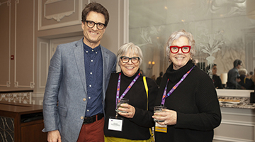Attendees at a reception at CAA's 108th Annual Conference in Chicago. Photo: Stacey Rupolo
