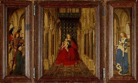 Jan van Eyck Dresden or Giustiniani Triptych