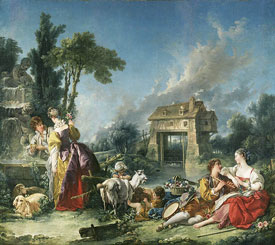 Francois Boucher Fountain of Love