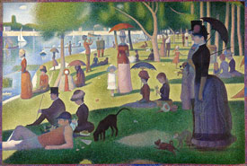 Georges-Pierre Seurat Sunday Afternoon Grande Jatte