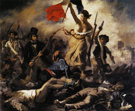 Eug�ne Delacroix Liberty Leading the People