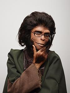 va2014po_CocoFusco-Dr.Zira Visual Arts; artists portraits. Coco Fusco as Dr. Zira, November 6, 2014.