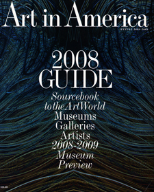 2008 Art in America Guide